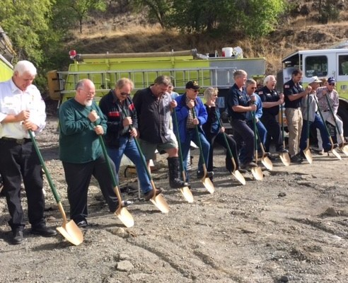 John Day Fire Station Groundbreaking