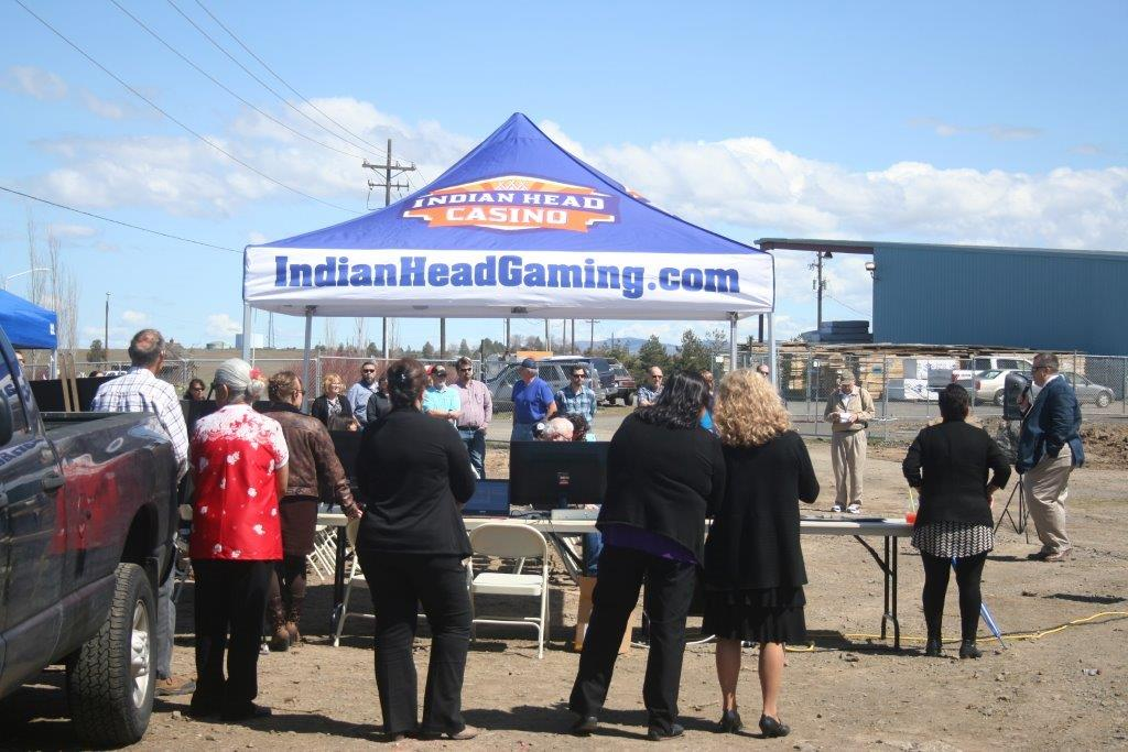 Travel Center Ground Breaking 1