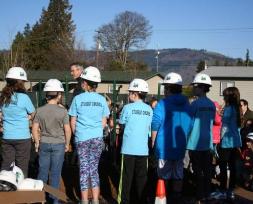 May Street Ground Breaking Hood River